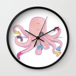 Socktopus Wall Clock