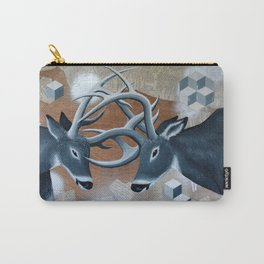 Deer Cubed Carry-All Pouch