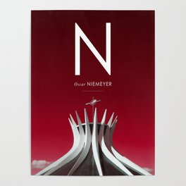 Iconic Architects: Niemeyer Poster