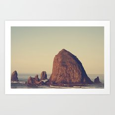 Oregon Ocean Art Print