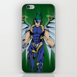 Elemental Hero Tempest iPhone Skin