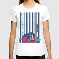 50s T-shirts featuring Diner by Ale Giorgini