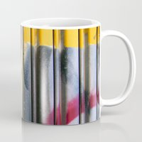 graffiti Mugs featuring Graffiti by BASEMENT WEST