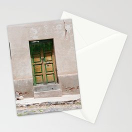 Bolivia door 3 Stationery Cards