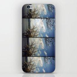floating trees iPhone Skin