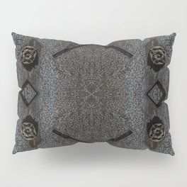 Metal Roses Pillow Sham