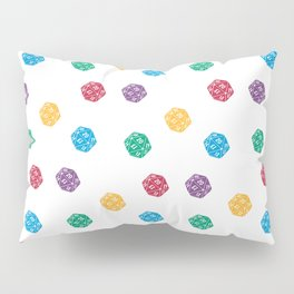 Mana Spin-downs - Red, Yellow, Green, Blue & Purple Pillow Sham