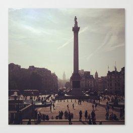 Trafalgar Square Photograph Canvas Print