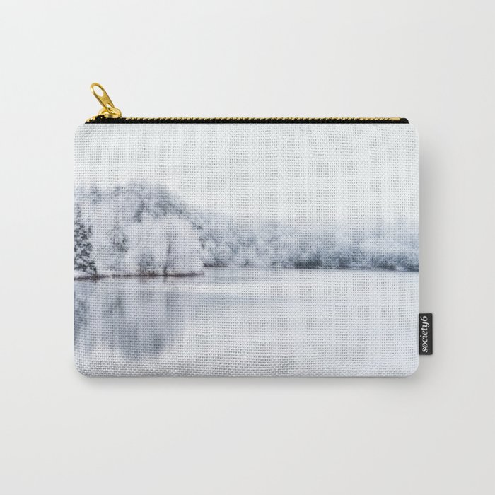White Wonder Reflection Carry-All Pouch