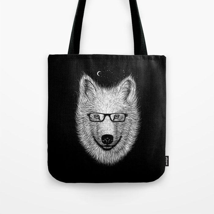 WHITE SPECTACLE Tote Bag