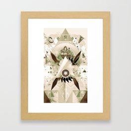 Worship Ganesh Framed Art Print