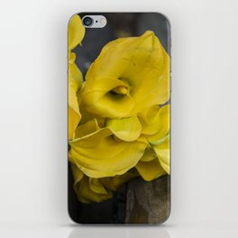 Yellow Callas iPhone Skin