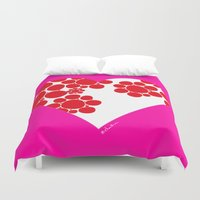 dot Duvet Covers featuring Dot by ♥ Charlie