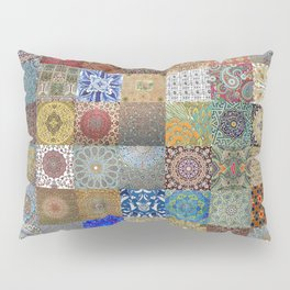 Persian Art Montage Pillow Sham