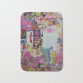 A Piece of Barbie Bath Mat