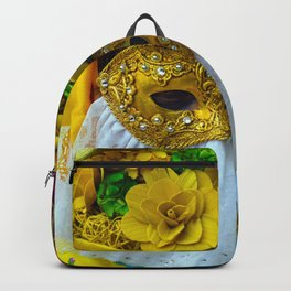 Carnevale of Venice Italy - Masquerade Mask Backpack