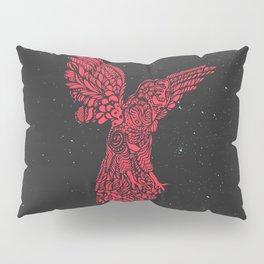 Gallito de las rocas peruvian bird red version by #Bizzartino Pillow Sham