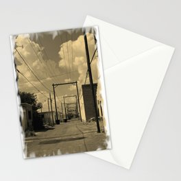 ALLEY IN ROSWELL Stationery Cards