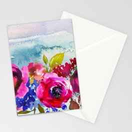 Flowers Bouquet 86 Stationery Cards