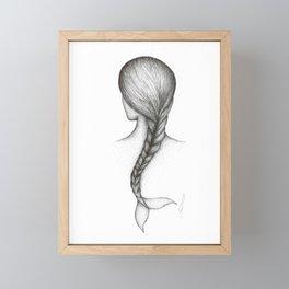 Ocean women  Framed Mini Art Print