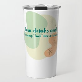 Forking commas Travel Mug