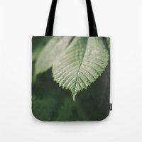 leaf Tote Bags featuring Leaf by Errne