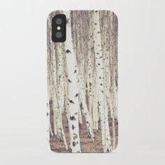 Trees iPhone X Slim Case