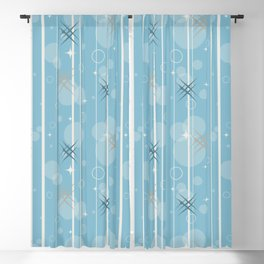 Stars and circles Blackout Curtain