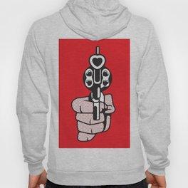 Roy Lichtenstein's print of a smoking gun Hoody