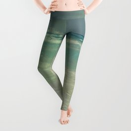 Carribean sea Leggings