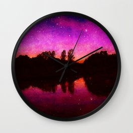 Ethereal World Wall Clock