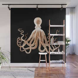 Octopus sea nautical beach coastal Wall Mural