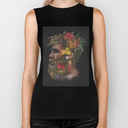One With Nature  Biker Tank