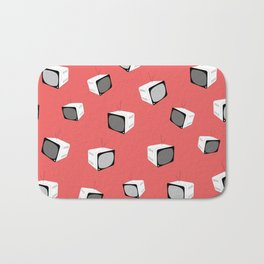 CORAL Retro Tv Bath Mat