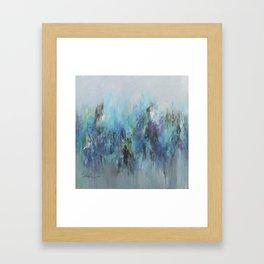 CAPRICCIO- ORIINALPAINTIN BY ANNA SCHUELER Framed Art Print