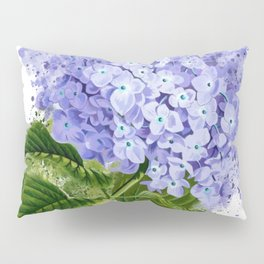 Watercolor hydrangea Pillow Sham