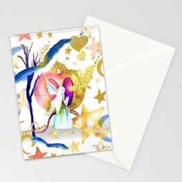 Starry Nights Stationery Cards