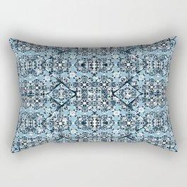 Luxury Oriental Ornate Pattern Rectangular Pillow