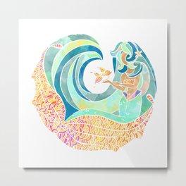 Sea friends Metal Print