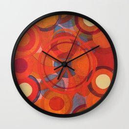 Circles by Jared Roses Wall Clock
