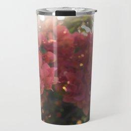 Dreamy Tropical Flowers Travel Mug