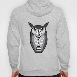 Stylized Owl Graphic Hoody