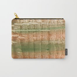 Brown green blurred watercolor texture Carry-All Pouch
