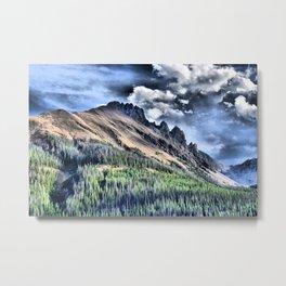 Colorado Mountain Metal Print