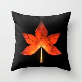 Autumn Leaves: Frame 320 Throw Pillow