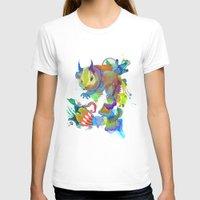 archan nair T-shirts featuring Locus Dahlia by Archan Nair