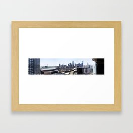 Docklands Panoramic  Framed Art Print