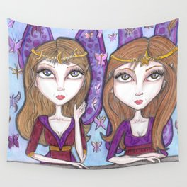 Fortune Teller faeries Wall Tapestry
