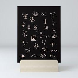 Symbols Mini Art Print