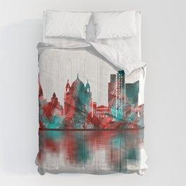 Turin Italy Skyline Comforters